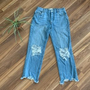 Free People Boyfriend Jeans